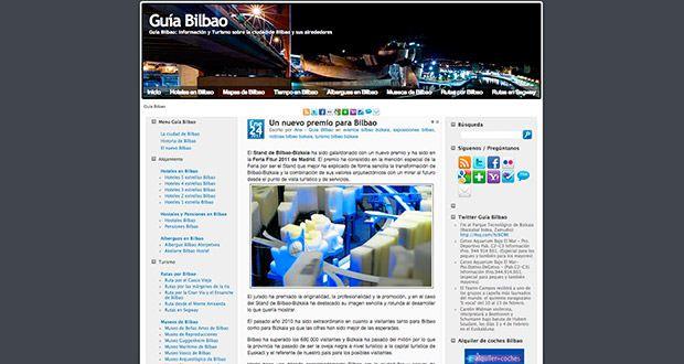Primera versión de Guía Bilbao (2009)