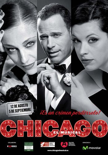 El musical Chicago en Bilbao