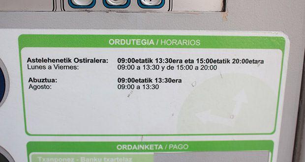 horario-ota-bilbao