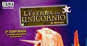 La Leyenda del Unicornio: El musical de las navidades