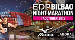 EDP Bilbao Night Marathon el 17 de Octubre