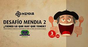 Segundo Desafío Bodegon Mendia: Evento gastronómico solidario el 3 de Octubre