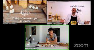 María Mora de La Manducateca, primera Mujer CheeseMonger de España